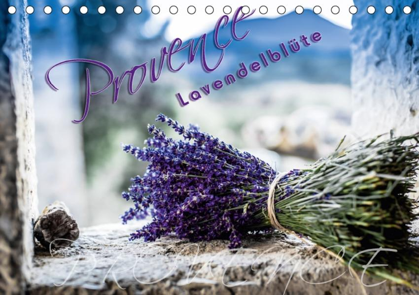 Provence - Lavendelblüte (Tischkalender 2017 DIN A5 quer) - Coverbild