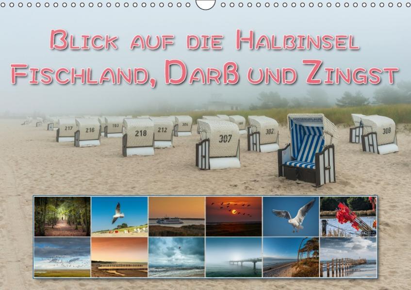 Blick auf die Halbinsel Fischland, Darß und Zingst (Wandkalender 2017 DIN A3 quer) - Coverbild