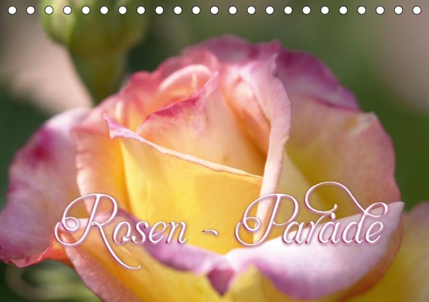 Rosen - Parade (Tischkalender 2017 DIN A5 quer) - Coverbild