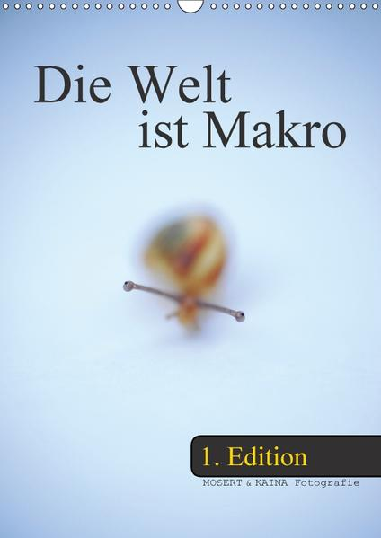 Die Welt ist Makro - 1. Edition (Wandkalender 2017 DIN A3 hoch) - Coverbild