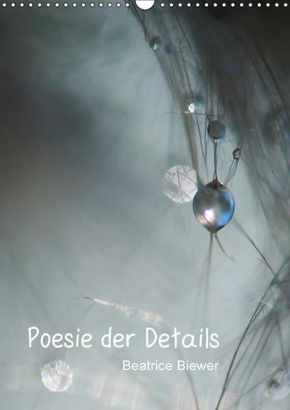 Poesie der Details (Wandkalender 2017 DIN A3 hoch) - Coverbild