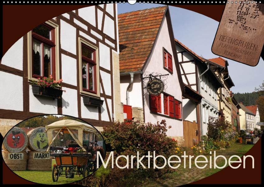 Marktbetreiben (Wandkalender 2017 DIN A2 quer) - Coverbild