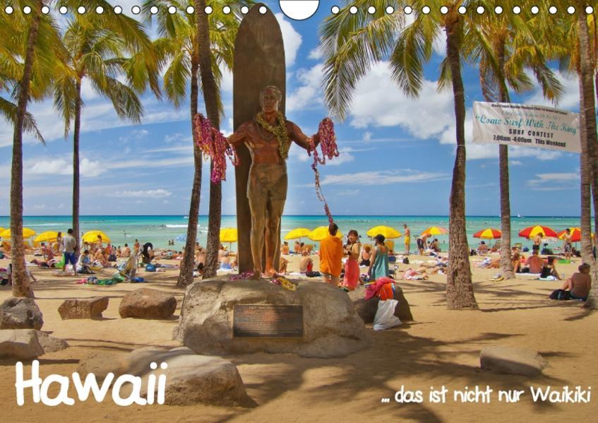 Hawaii  … das ist nicht nur Waikiki (Wandkalender 2017 DIN A4 quer) - Coverbild