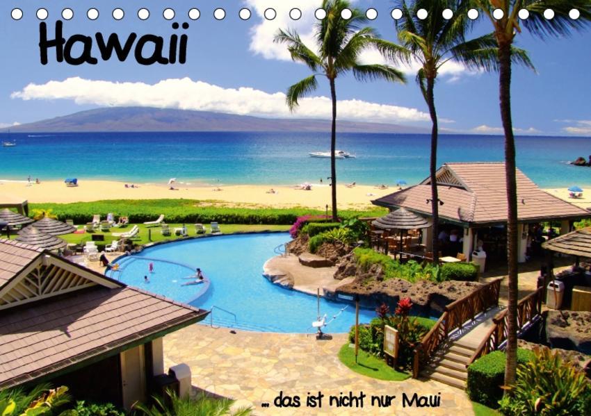 Hawaii ... das ist nicht nur MauiAT-Version  (Tischkalender 2017 DIN A5 quer) - Coverbild