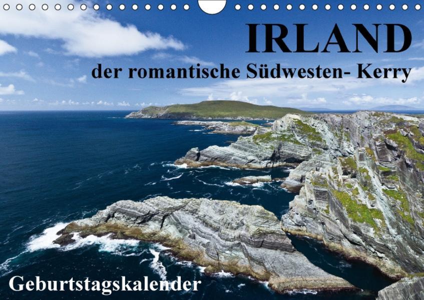 Irland - der romantische Südwesten - Kerry (Wandkalender 2017 DIN A4 quer) - Coverbild