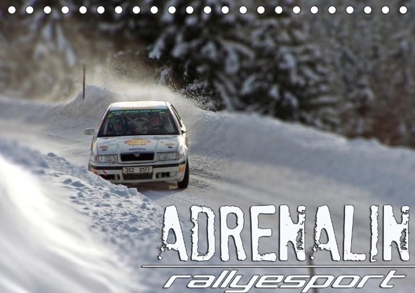 ADRENALIN RallyesportAT-Version  (Tischkalender 2017 DIN A5 quer) - Coverbild