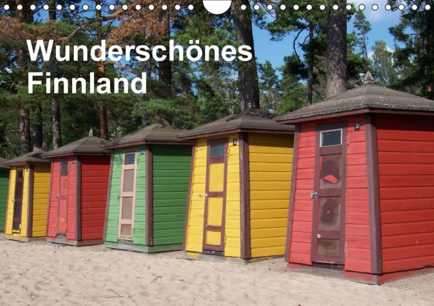Wunderschönes Finnland (Wandkalender 2017 DIN A4 quer) - Coverbild