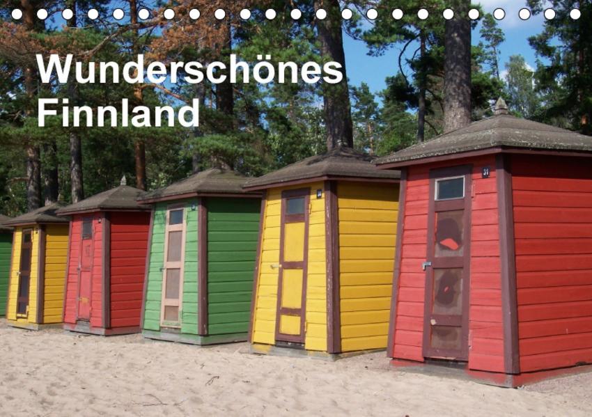 Wunderschönes Finnland (Tischkalender 2017 DIN A5 quer) - Coverbild