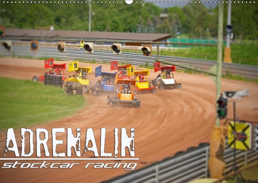 ADRENALIN Stockcar RacingAT-Version  (Wandkalender 2017 DIN A2 quer) - Coverbild