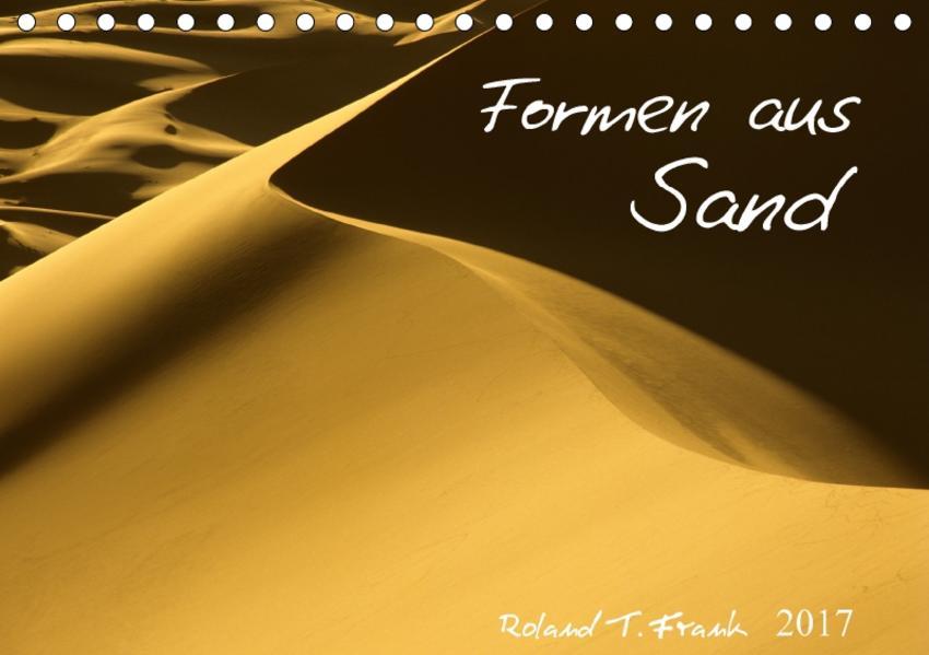 Formen aus SandAT-Version  (Tischkalender 2017 DIN A5 quer) - Coverbild