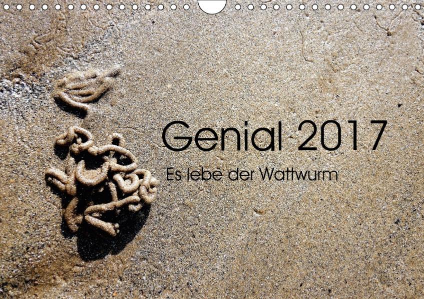 Genial 2017 - Es lebe der Wattwurm (Wandkalender 2017 DIN A4 quer) - Coverbild