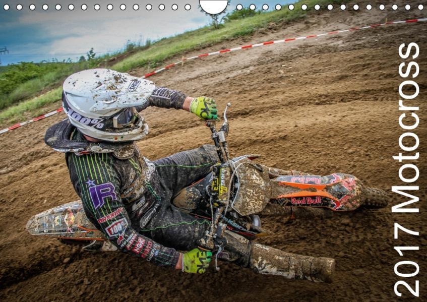 Motocross 2017 (Wandkalender 2017 DIN A4 quer) - Coverbild