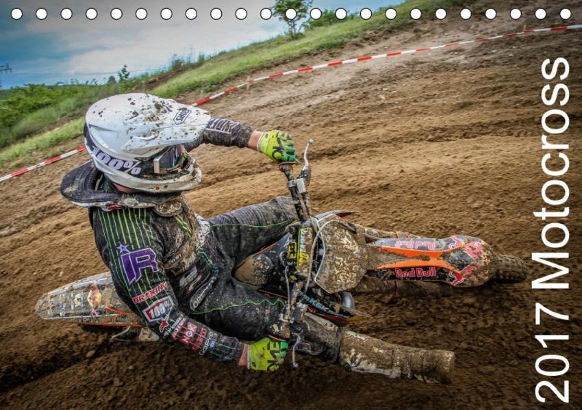 Motocross 2017 (Tischkalender 2017 DIN A5 quer) - Coverbild