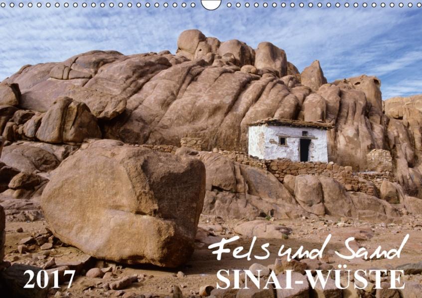 Fels und Sand - SinaiwüsteAT-Version  (Wandkalender 2017 DIN A3 quer) - Coverbild