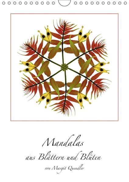 Mandalas aus Blättern und Blüten (Wandkalender 2017 DIN A4 hoch) - Coverbild