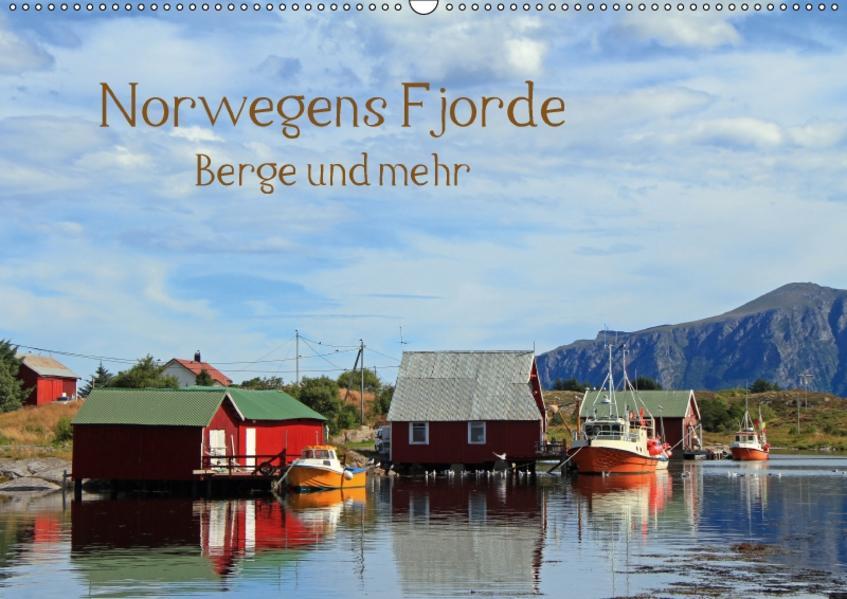 Norwegens Fjorde, Berge und mehr (Wandkalender 2017 DIN A2 quer) - Coverbild