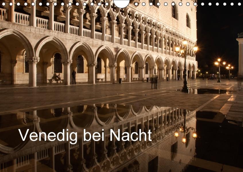 Venedig bei Nacht (Wandkalender 2017 DIN A4 quer) - Coverbild