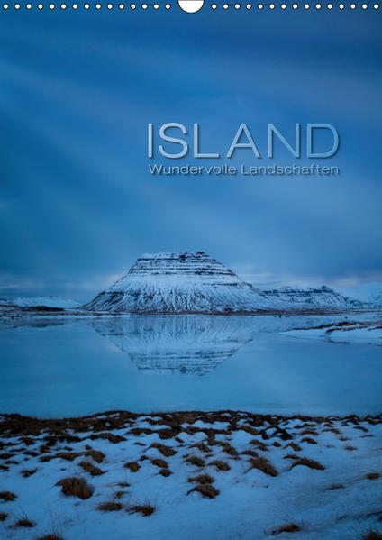 Island - Wundervolle Landschaften (Wandkalender 2017 DIN A3 hoch) - Coverbild