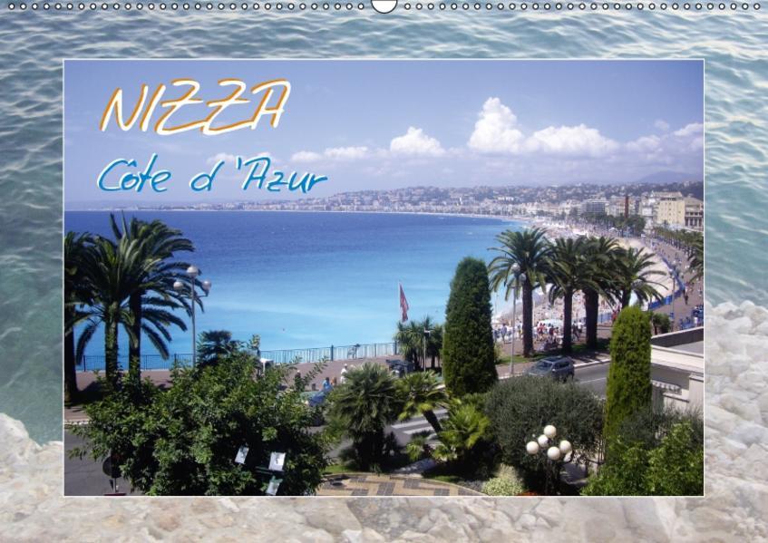 Nizza, Côte d'Azur (Wandkalender 2017 DIN A2 quer) - Coverbild