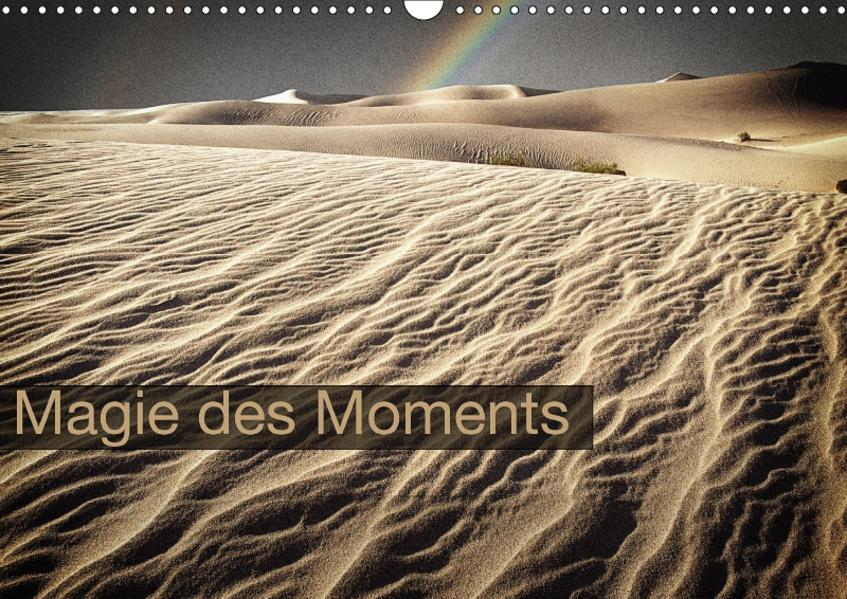 Magie des Moments (Wandkalender 2017 DIN A3 quer) - Coverbild