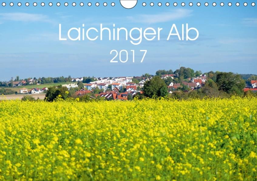 Laichinger Alb (Wandkalender 2017 DIN A4 quer) - Coverbild