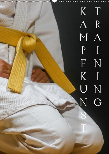 KampfkunsttrainingAT-Version  (Wandkalender 2017 DIN A2 hoch) - Coverbild