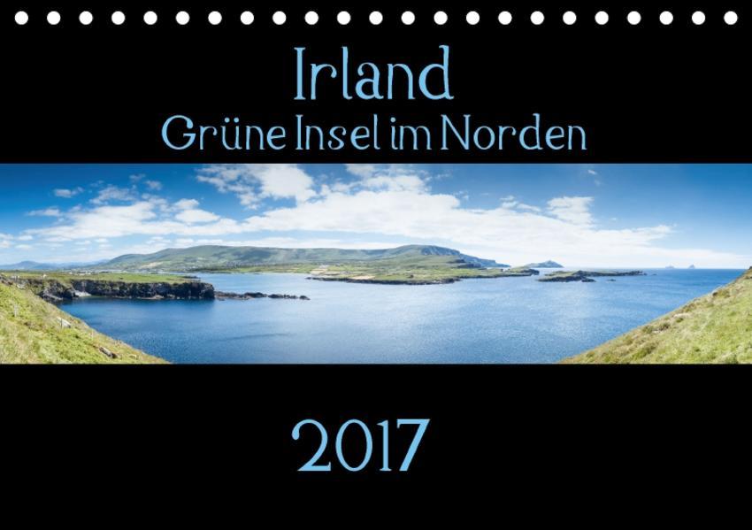 Irland - Grüne Insel im Norden (Tischkalender 2017 DIN A5 quer) - Coverbild