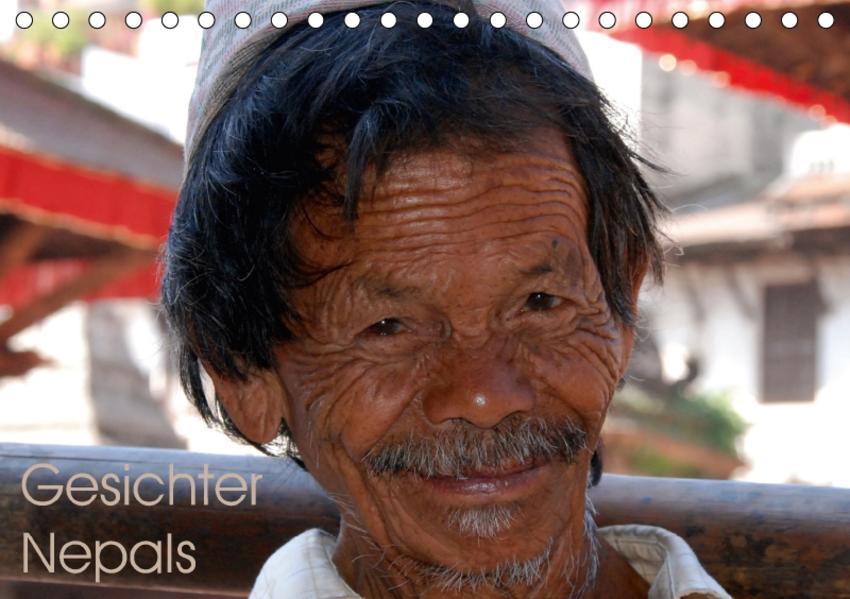 Gesichter Nepals (Tischkalender 2017 DIN A5 quer) - Coverbild
