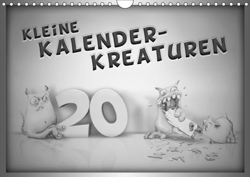 Kleine Kalender-Kreaturen (Wandkalender 2017 DIN A4 quer) - Coverbild