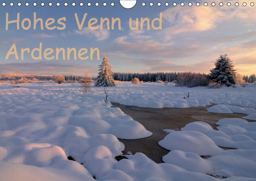 Hohes Venn und Ardennen (Wandkalender 2017 DIN A4 quer) - Coverbild
