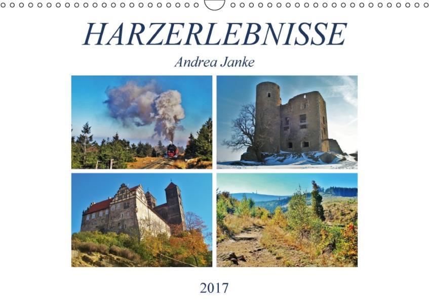 Harzerlebnisse (Wandkalender 2017 DIN A3 quer) - Coverbild