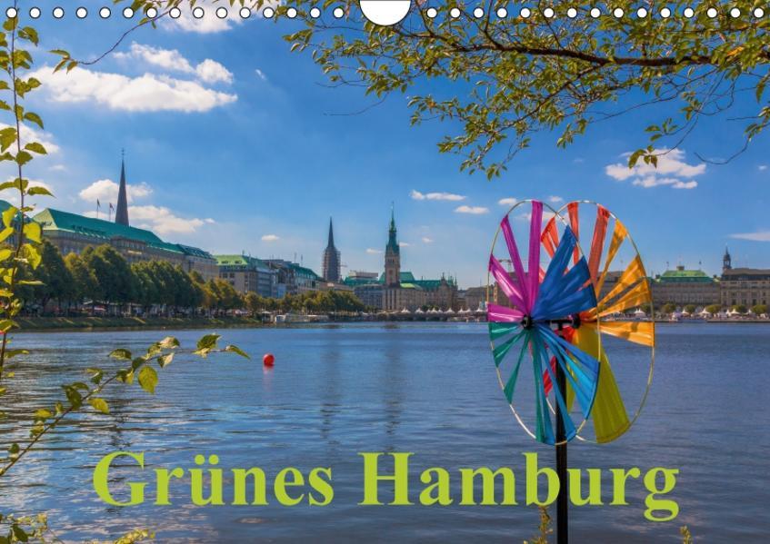 Grünes Hamburg (Wandkalender 2017 DIN A4 quer) - Coverbild