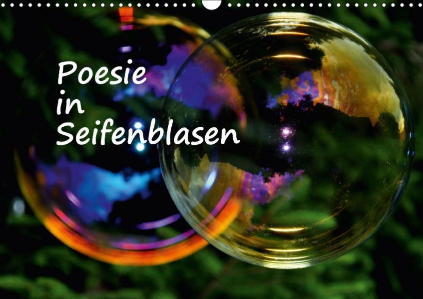 Poesie in Seifenblasen (Wandkalender 2017 DIN A3 quer) - Coverbild