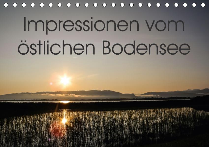 Impressionen vom östlichen Bodensee (Tischkalender 2017 DIN A5 quer) - Coverbild