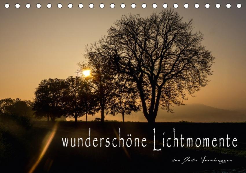wunderschöne Lichtmomente (Tischkalender 2017 DIN A5 quer) - Coverbild