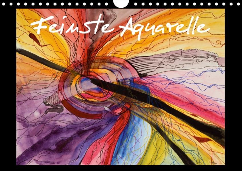 Feinste Aquarelle (Wandkalender 2017 DIN A4 quer) - Coverbild