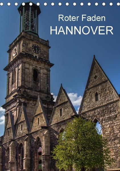 Roter Faden Hannover (Tischkalender 2017 DIN A5 hoch) - Coverbild