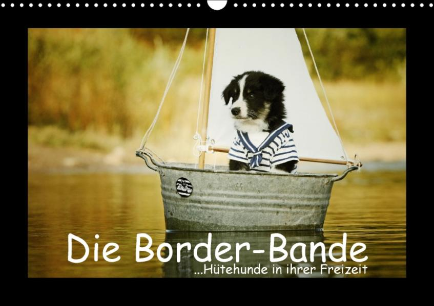 Die Borderbande (Wandkalender 2017 DIN A3 quer) - Coverbild