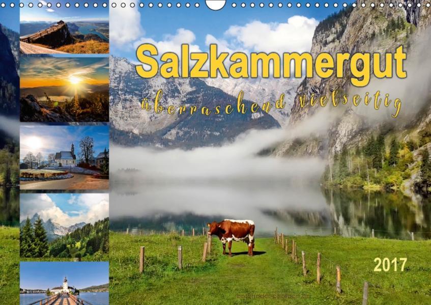 Salzkammergut, überraschend vielseitig (Wandkalender 2017 DIN A3 quer) - Coverbild