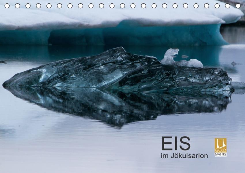Eis im Jökulsarlon (Tischkalender 2017 DIN A5 quer) - Coverbild