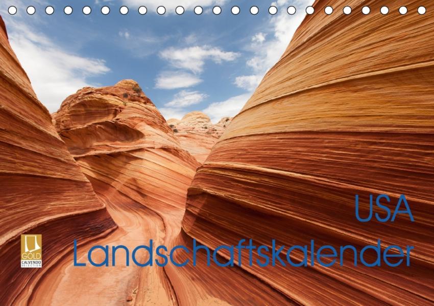 USA Landschaftskalender (Tischkalender 2017 DIN A5 quer) - Coverbild