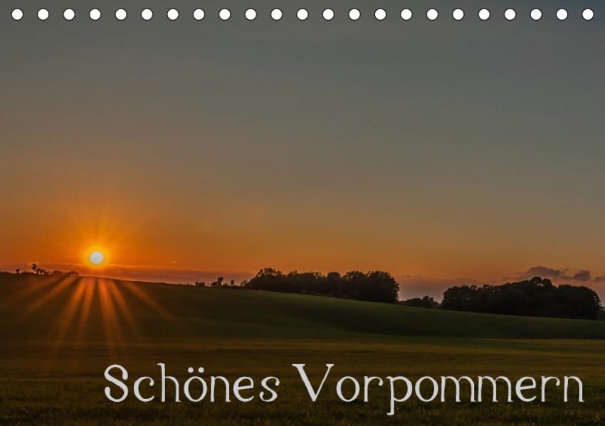 Schönes Vorpommern (Tischkalender 2017 DIN A5 quer) - Coverbild