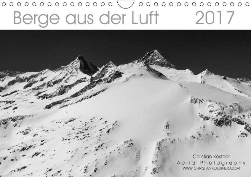 Berge aus der Luft (Wandkalender 2017 DIN A4 quer) - Coverbild