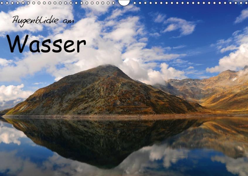 Augenblicke am Wasser (Wandkalender 2017 DIN A3 quer) - Coverbild