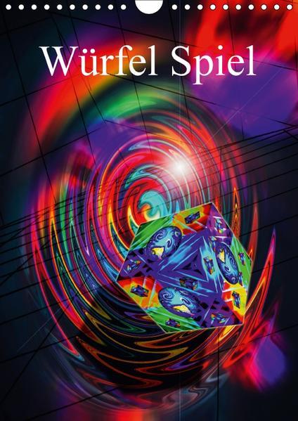 Würfel Spiel (Wandkalender 2017 DIN A4 hoch) - Coverbild