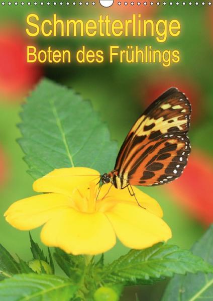 Schmetterlinge, Boten des Frühlings (Wandkalender 2017 DIN A3 hoch) - Coverbild