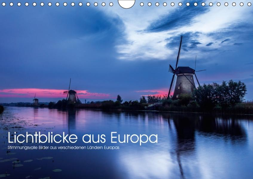 Lichtblicke aus Europa (Wandkalender 2017 DIN A4 quer) - Coverbild