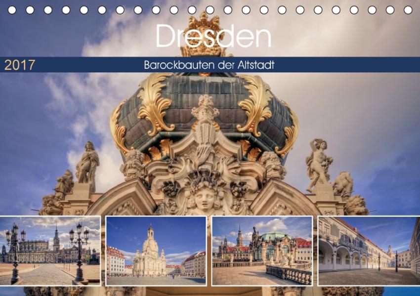 Barockes Dresden (Tischkalender 2017 DIN A5 quer) - Coverbild