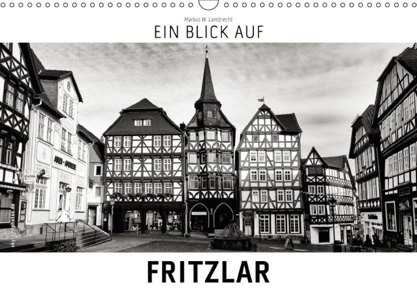 Ein Blick auf Fritzlar (Wandkalender 2017 DIN A3 quer) - Coverbild