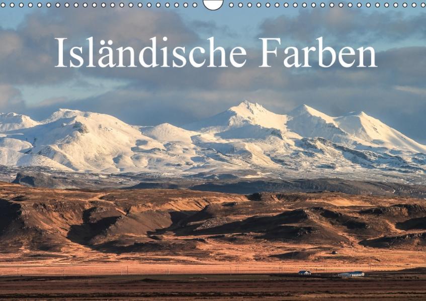 Isländische Farben (Wandkalender 2017 DIN A3 quer) - Coverbild
